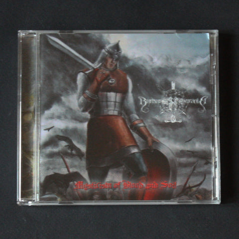"BARBAROUS POMERANIA ‎""Mysticism of Blood and Soil"" CD"