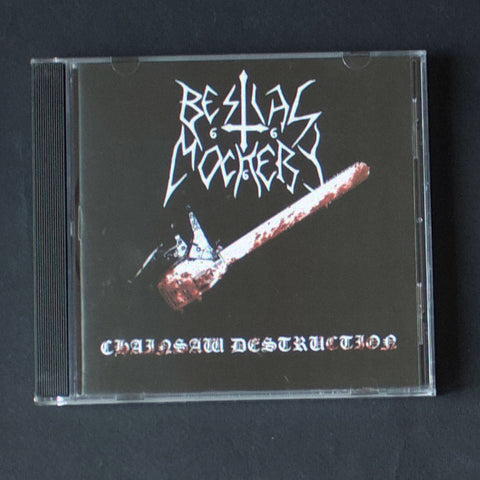 "BESTIAL MOCKERY ""Chainsaw Destruction"" CD"