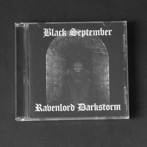 "BLACK SEPTEMBER / RAVENLORD DARKSTORM ""Split"" CD"