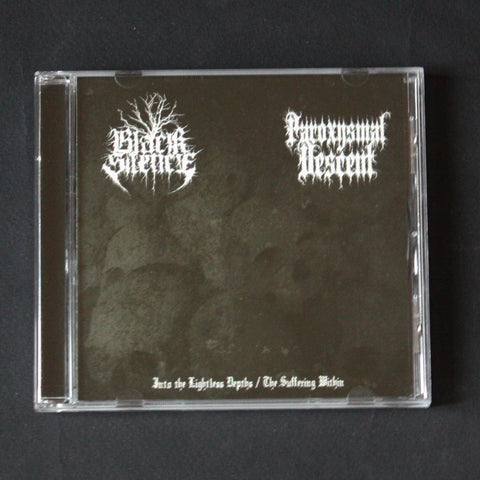 "BLACK SILENCE / PAROXYSMAL DESCENT ""Into The Lightless Depths / The Suffering Within"" CD"