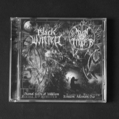 "BLACK WINTER / MOONTOWER ‎""Dismal Fields Of Nihilism / Requiem Aeternal Deo"" CD"