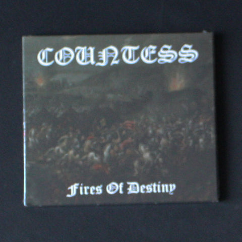 "COUNTESS ""Fires of Destiny"" Digipak CD"