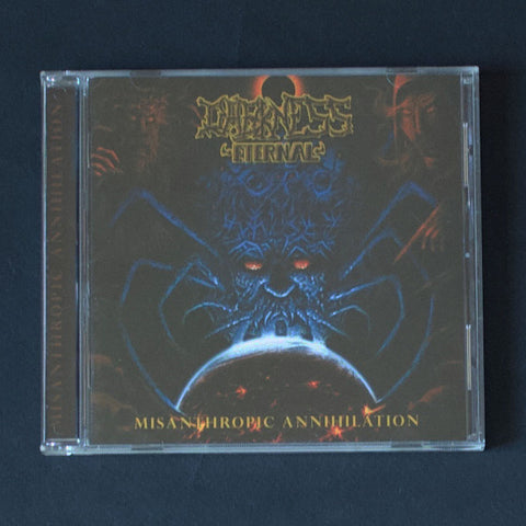 "DARKNESS ETERNAL ""Misanthropic Annihilation"" CD"
