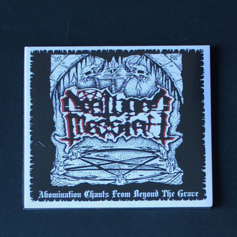"DEATHGOD MESSIAH ""Abomination Chants From Beyond the Grave"" CD"