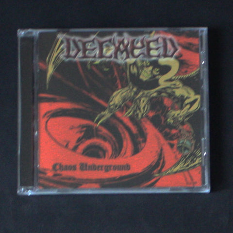"DECAYED ""Chaos Underground"" CD"