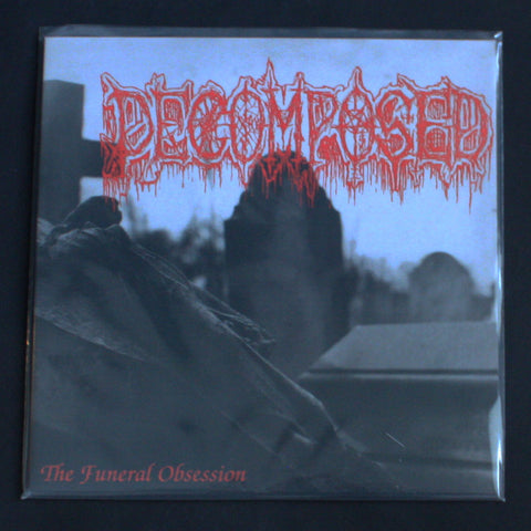 "DECOMPOSED ""The Funeral Obsession"" 12""MLP"
