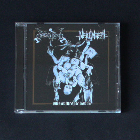 "DODSFERD / NADIWRATH ‎""Misanthropic Bonds"" CD"