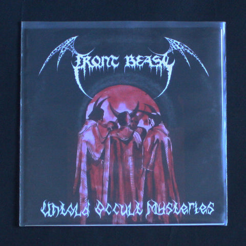 "FRONT BEAST ""Untold Occult Mysteries"" 7""EP"