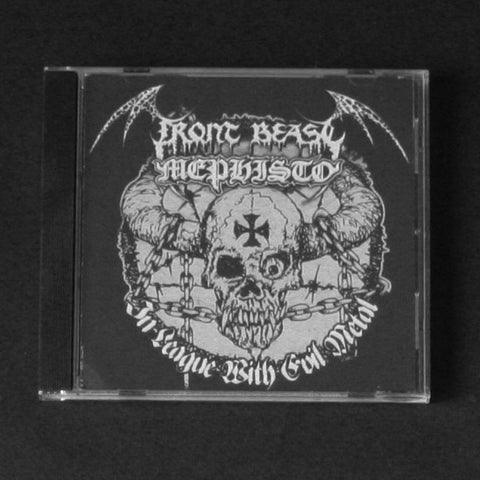 "FRONT BEAST/MEPHISTO ""In League with Evil Metal"" CD"