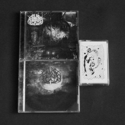 "FUIL NA SEANCHOILLE ""F.N.S."" CD + ""Hunger"" CD + exclusive bonus cassette bundle"