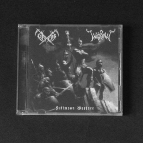 "GROM / WULFGRAVF ""Fullmoon Warfare"" CD"