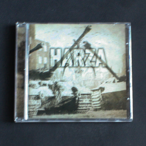 "HARZA ""War"" CD"