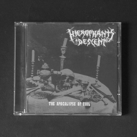 "HIEROPHANT'S DESCENT ""The Apocalypse Of Evil"" MCD"