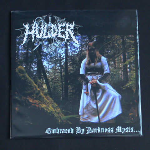 "HULDER ""Embraced By Darkness Mysts..."" 7""EP (red)"