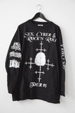"ABSU / SADISTIK EXEKUTION / IMPALED NAZARENE ""Sex, Cyber & Rock'N Roll"" Long Sleeve T-Shirt"