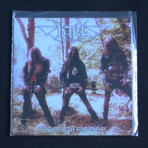 "KILL ""The Death Rape E.P."" 7""EP"