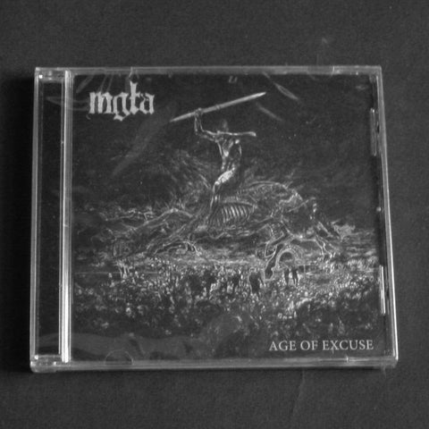 "MGŁA ""Age of Excuse"" CD"