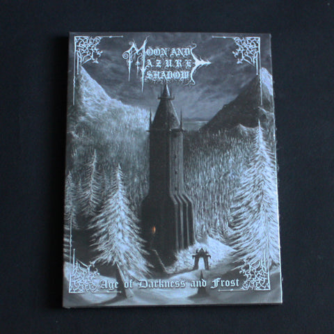 "MOON AND AZURE SHADOW ""Age Of Darkness And Frost"" A5 Digipak CD"