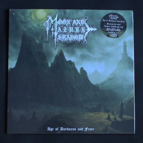 "MOON AND AZURE SHADOW ""Age Of Darkness And Frost"" 12""LP"