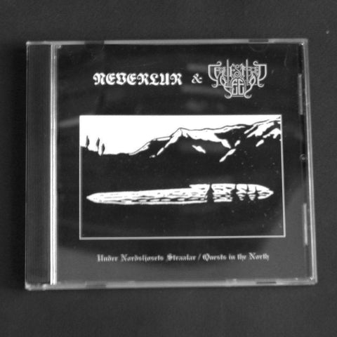 "NEVERLUR / SEQUESTERED KEEP ""Unser Nordsljosets Straalar / Quests in the North"" CD"