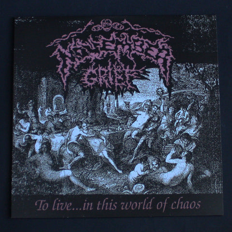 "NOVEMBER GRIEF ""To Live... In this World of Chaos"" 12""LP"