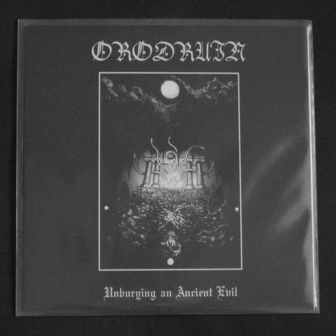 "ORODRUIN ""Unburying An Ancient Evil"" single sided 12""LP"