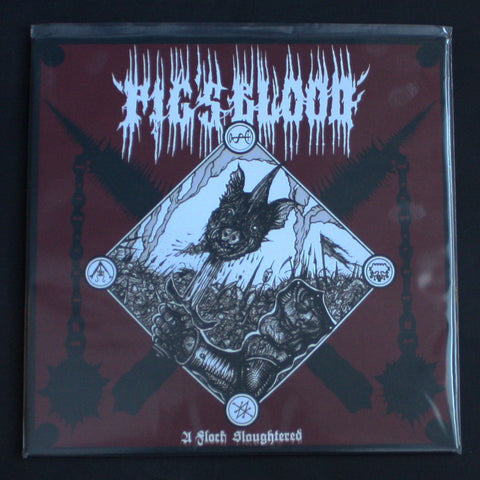 "PIG'S BLOOD ""A Flock Slaughtered"" 12""LP"