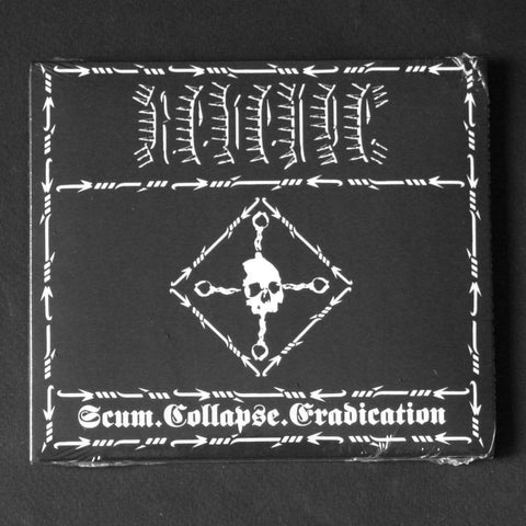 "REVENGE ""Scum.Collapse.Eradication"" Digipak CD"