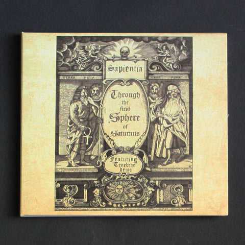 "SAPIENTIA ""Through the First Sphere of Saturnus"" Digipak CD"