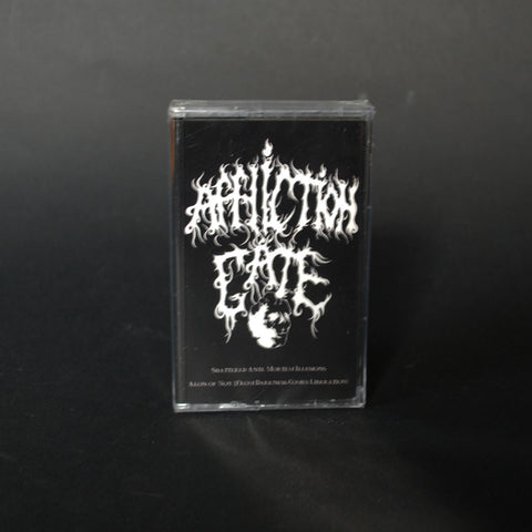 "AFFLICTION GATE ""Shattered Ante Mortem Illusions/Aeon Of Nox (From Darkness Comes Liberation)"" Pro-MC"
