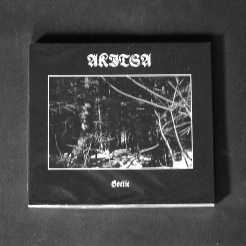 "AKITSA ""Goétie"" digipak CD"
