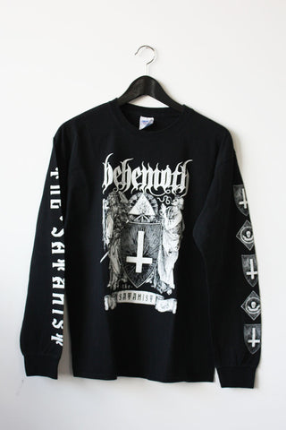 "BEHEMOTH  ""Satanist Eye Tour 2014"" Long Sleeve T-Shirt"