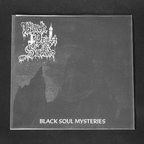 "BLACK PRIEST OF SATAN / CRUCIFIXION WOUNDS ""Black Sould Mysteries / Desecration Rties"" 7""EP"