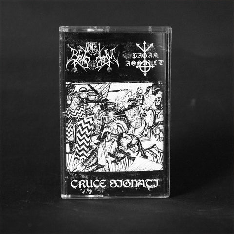 "BLACKSSTORM / PAGAN ASSAULT ""Cruce Signati"" MC"
