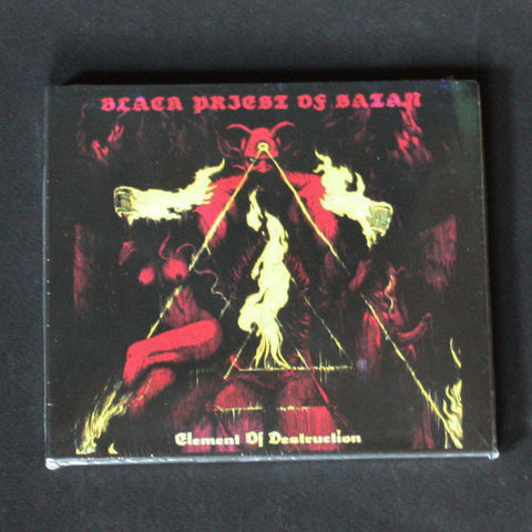 "BLACK PRIEST OF SATAN ""Element of Destruction"" Digipak CD"