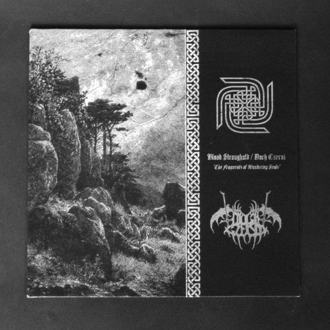 "BLOOD STRONGHOLD / DUCH CZERNI ""The Fragments of Wandering Souls"" 7""EP"