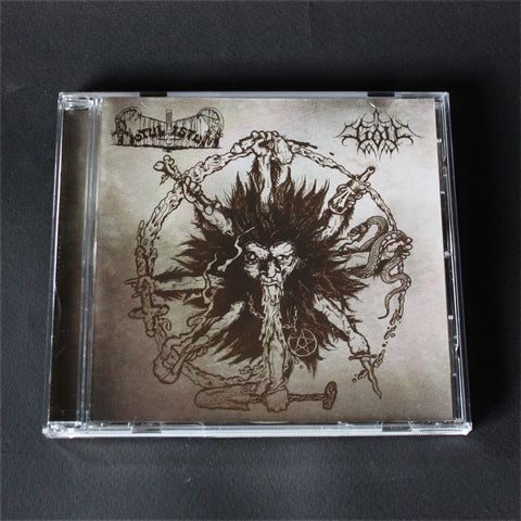 "BOTULISTUM / GÖLL ""Split"" CD"
