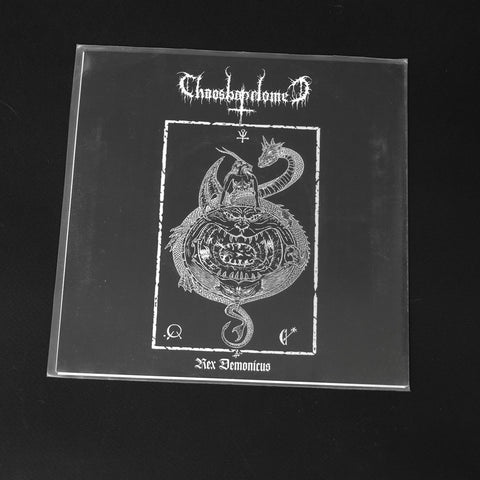 "CHAOSBAPHOMET / CRUCIFIXION WOUNDS ""Rex Demonicus/Profanation of the Crucified"" 7""EP"