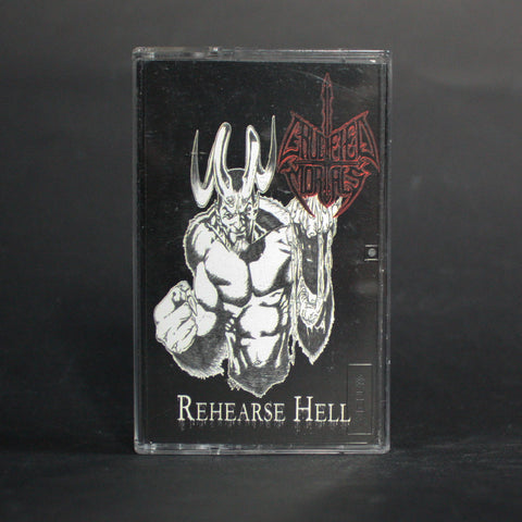 "CRUCIFIED MORTALS ""Rehearse Hell"" MC"