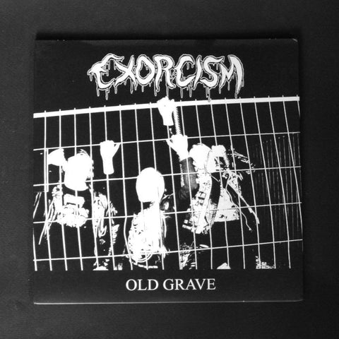 "EXORCISM / RADEMASSAKER ""Old Grave / Tormented in Gore"" 7""EP"