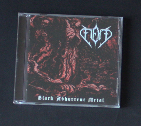 "FIEND ""Black Abhorrent Metal"" CD"