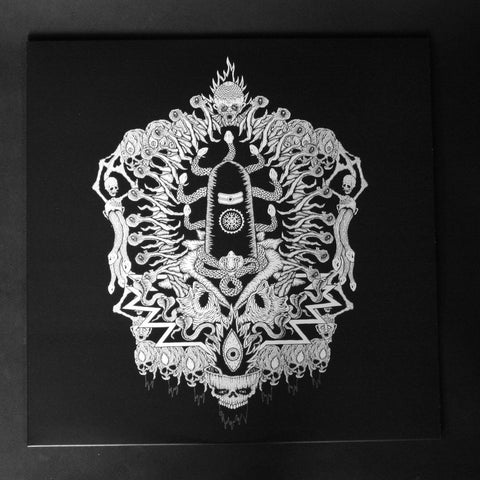 "GENOCIDE SHRINES ""Manipura Imperial Deathevokovil: Scriptures of Reversed Puraana Dharmurder"" 12""LP"