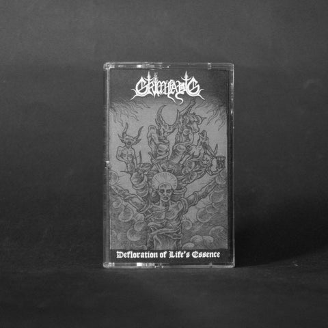 "GRIMFAUG ""Defloration of Life's Essence"" MC"