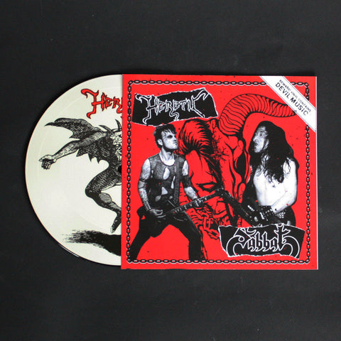 "HERETIC/SABBAT ""Split"" picture 7""EP"