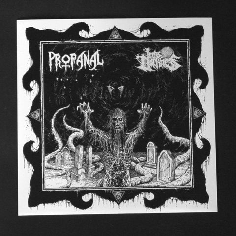 "PROFANAL / INTO DARKNESS ""Close The Coffin / 3C 273"" 7""EP"