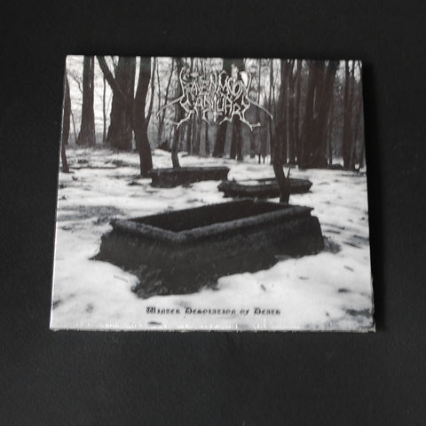 "RAVENMOON SANCTUARY ""Winter Desolation of Death"" digipack CD"