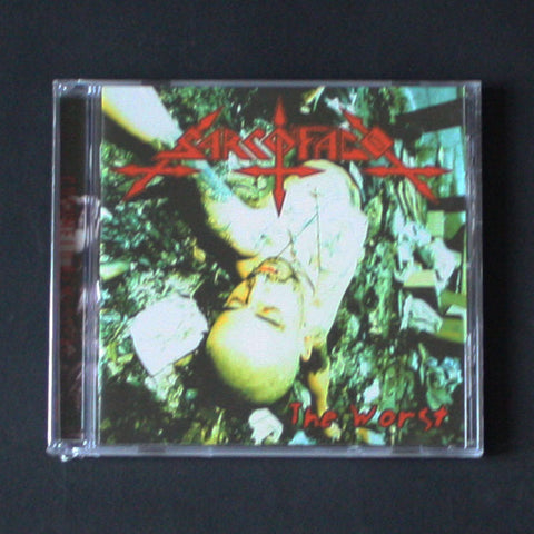 "SARCÓFAGO ""The Worst / Crust"" CD"