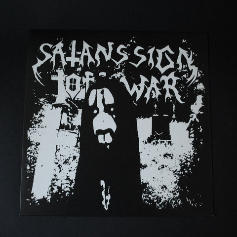 "SATANS SIGN OF WAR 12""LP"