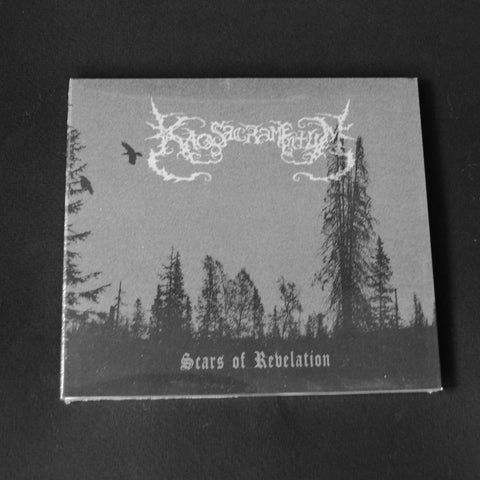 "KAOS SACRAMENTUM ""Scars Of Revelation"" digipack CD"