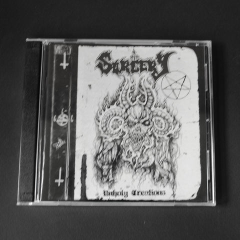 "SORCERY ""Unholy Creations"" Double CD"